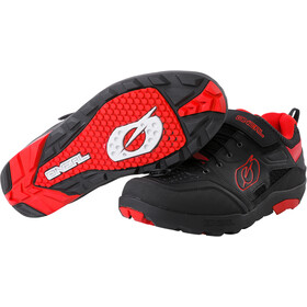 O'Neal Traverse Flat Shoes Men black/red